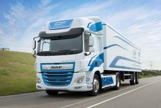 DAF debuteert met nieuwe elektrische vrachtwagen