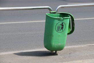 Vuilnisbak-cam: de snelheidscamera verborgen in een vuilnisbak