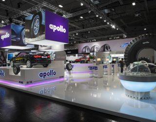 Apollo's fabriek in Hongarije produceert nu vrachtwagenbanden