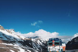 Arctische vrachtwagen?