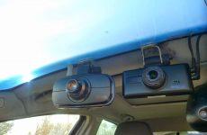 Een dashcam in de vrachtwagen